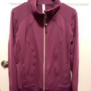 Lululemon set zip jacket size 12 pants 10R